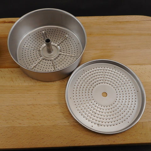 Ekco Ekcoware 1950s Coffee Percolator 8 Cup Replacement Part - Grounds Basket & Lid