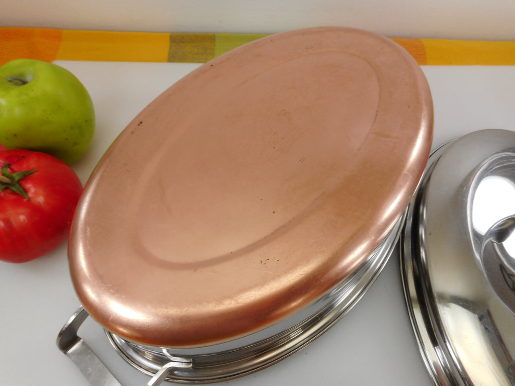 Eckoware 1956 Cookware Stainless Steel Thick Copper Clad