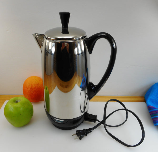 Farberware USA Superfast Coffee Percolator Pot - 12 Cup Stainless Model 412