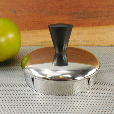Vintage Farberware Coffee Superfast Stainless Percolator Replacement Lid Black Knob