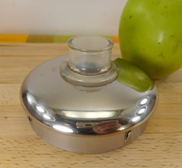 Farberware Coffee Superfast Stainless Percolator Used Replacement Part - Lid with Plastic Perk Knob