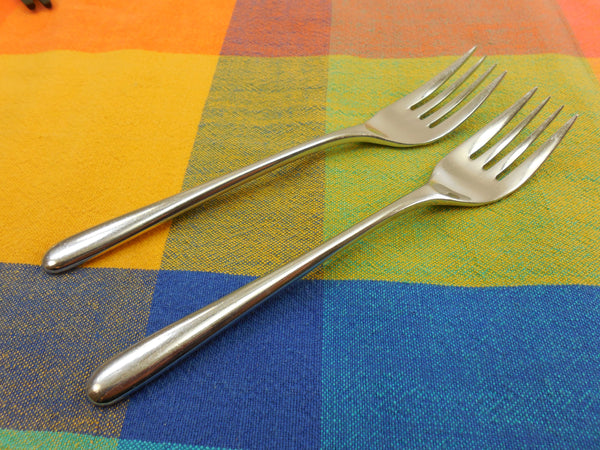 Celebrity Fortunoff CEFI Stainless Flatware - 2 Dinner Forks... 7-1/4""