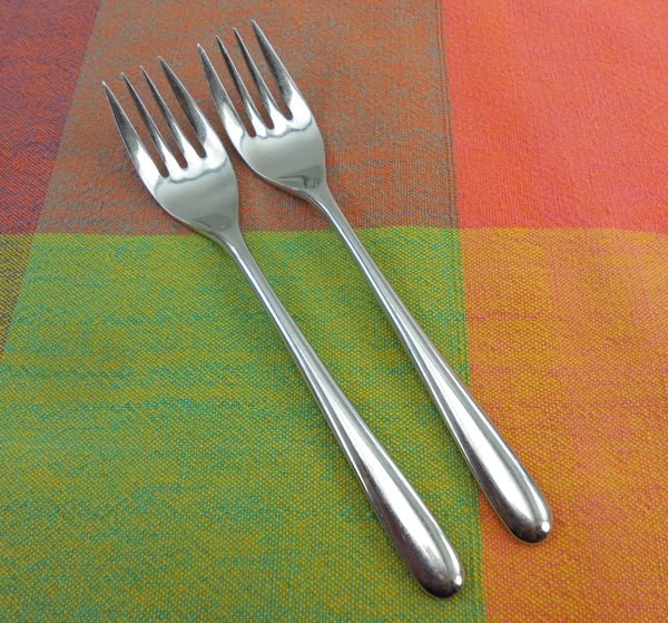 Celebrity Fortunoff CEFI Stainless Flatware - 2 Salad Forks
