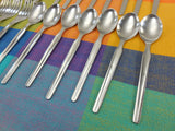Continental Germany - CSS10 Stainless Flatware Fork Teaspoon Spoon knife - MCM 25 Lot