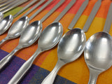 Continental Germany - CSS10 Stainless Flatware Fork Place Spoon knife - MCM 25 Lot