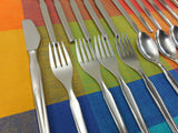 Continental Germany - CSS10 Stainless Flatware Dinner Fork Spoon knife - MCM 25 Lot