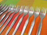 Continental Germany - CSS10 Stainless Flatware salad Fork Spoon knife - MCM 25 Lot