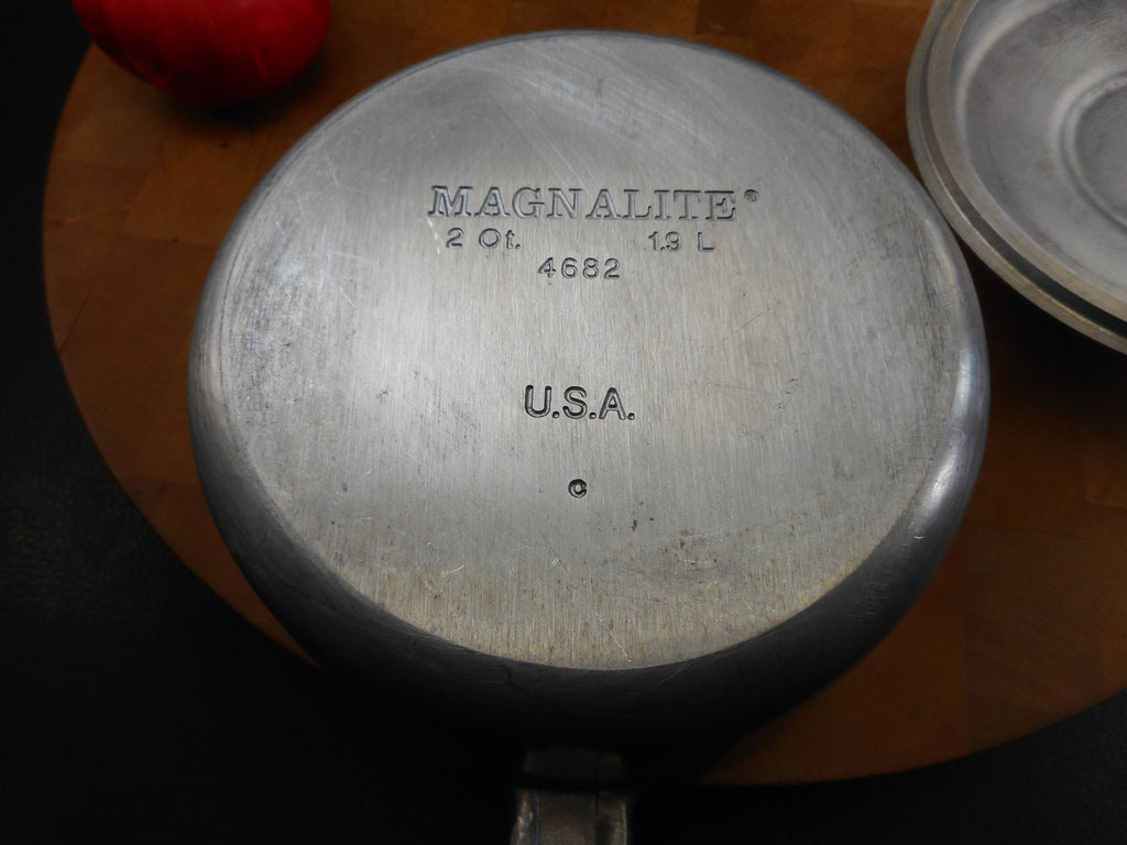 GHC Magnalite (Wagner) USA 2 Quart Saucepan and Lid - Model 4682 1.9 Liter