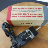 Vintage NOS New Old Stock - Hamilton Beach RC3 Automatic Heat Control Power Supply - View 2