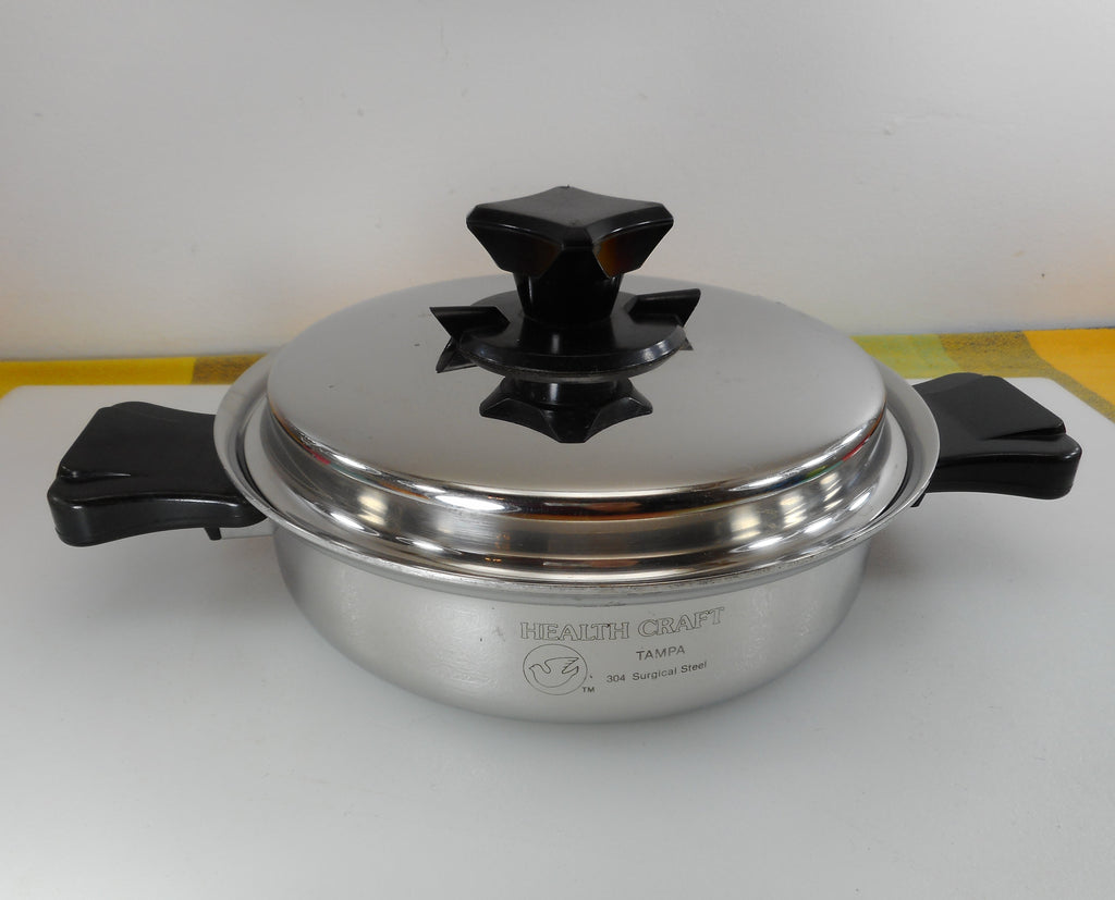 Health Craft Cookware Tampa Fl - 1-1/2 Quart Saucepan wt Vent Lid 304 Surgical  Stainless Steel