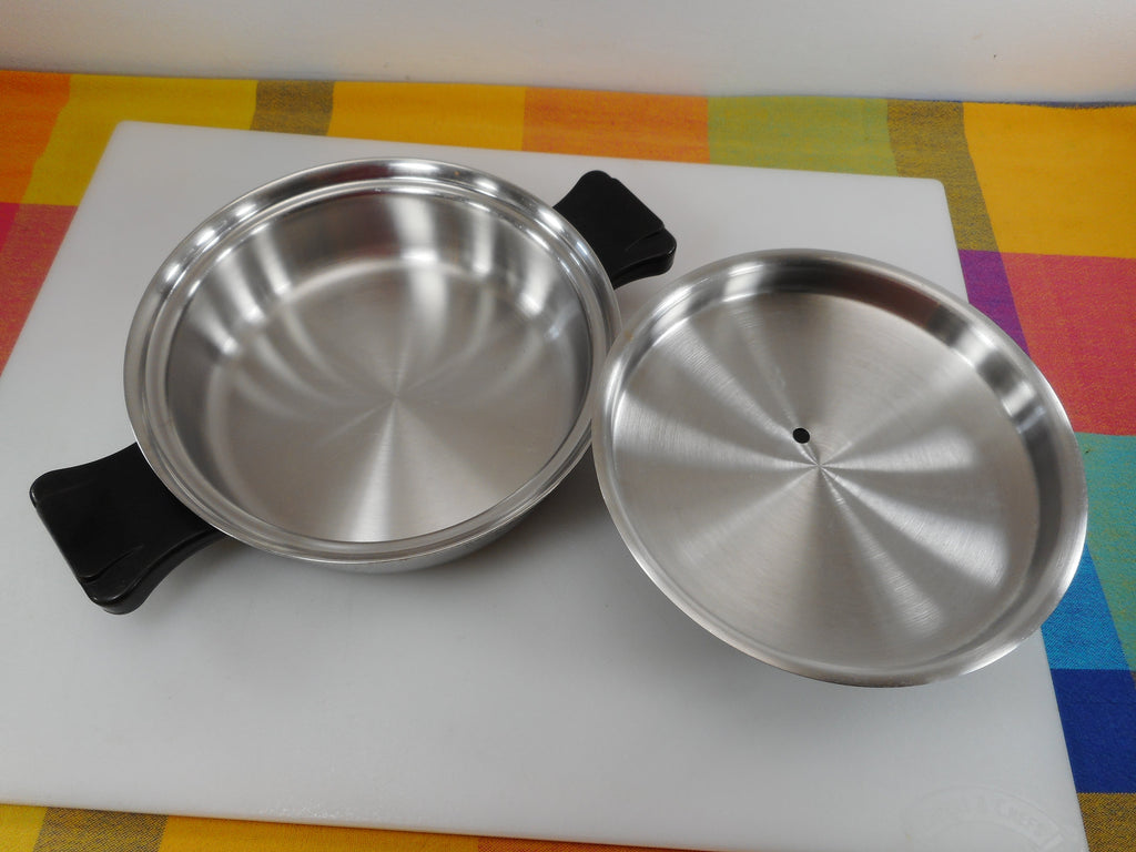 Health Craft Cookware Tampa Fl - 1-1/2 Quart Saucepan wt Vent Lid 304 Surgical  Stainless Steel Used
