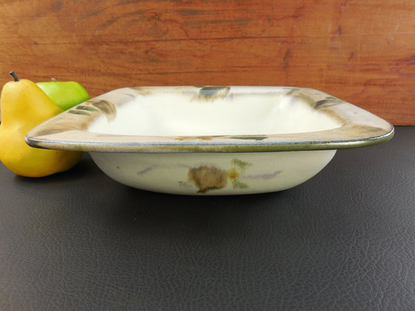 Harriet Hiemstra - Large Serving Table Bowl - Signed Art Studio Pottery