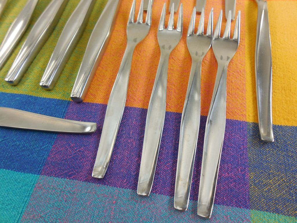 Herbert Gosebrink HGS Solingen Germany - Modern Flatware Lot Stainless Knife Fork Spoon forks