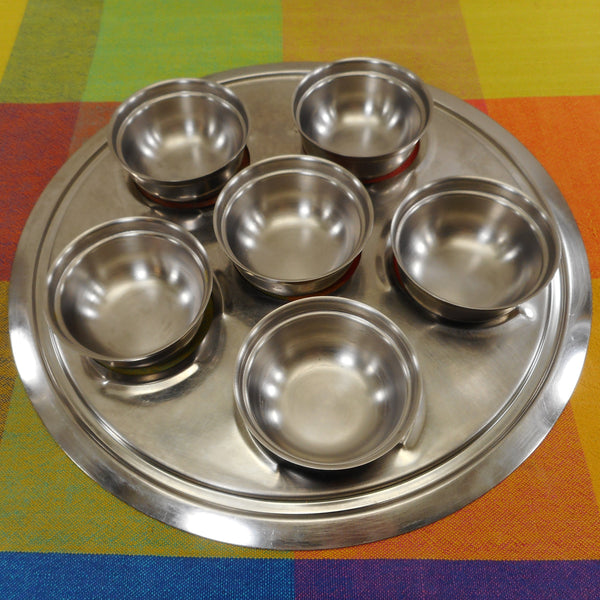 "Holiday USA T-304S 19-9 Surgical Stainless Cookware Replacement Part - 11"" Poached Egg Insert"