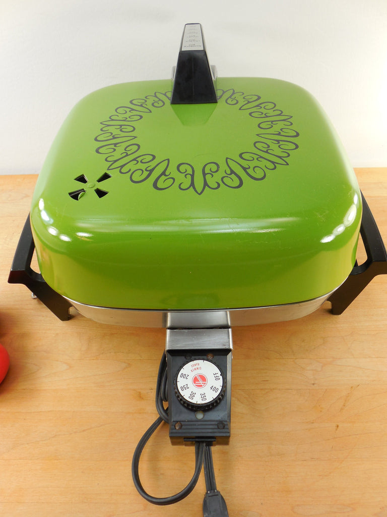 Sold Hoover 1970s Electric Fry Pan Skillet Combo