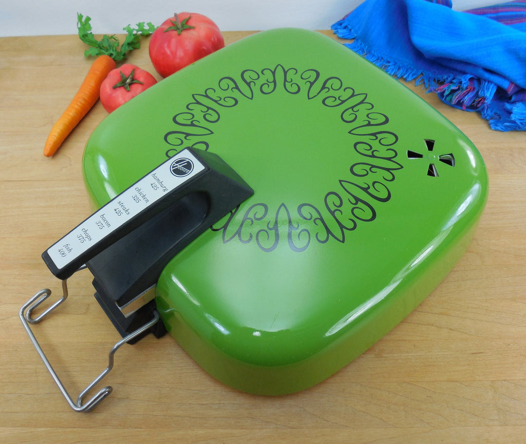 Hoover Electric Skillet Combo Broiler Replacement Lid - Mod Avocado Green