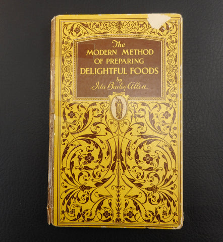 "Ida Bailey Allen 1927 Corn Recipe Cookbook ""The Modern Method of Preparing Delightful Foods"""