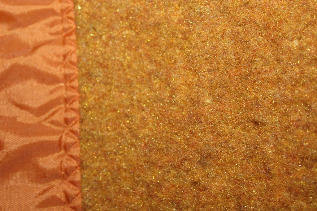 Acrylic Blanket Unused Rare Metallic Highlights burnt Sugar Caramel exotic