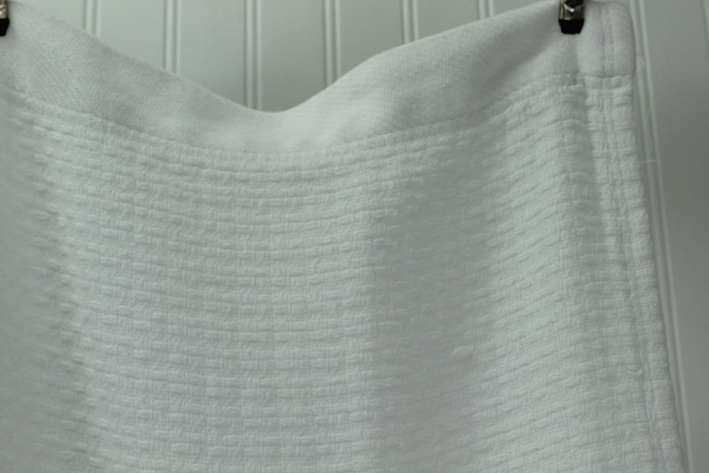 "White Cotton Blanket 100% Cotton Home Collection Heavy King 101"" X 82"" King Queen big"