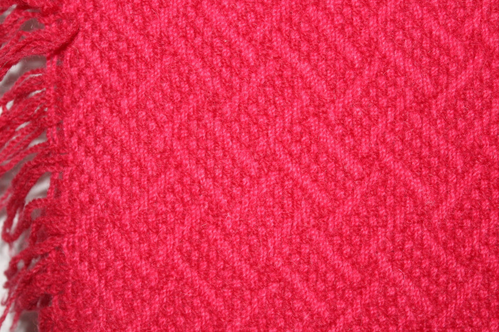 Pendleton Wool Throw Rose Color Woven Design Special Price pink