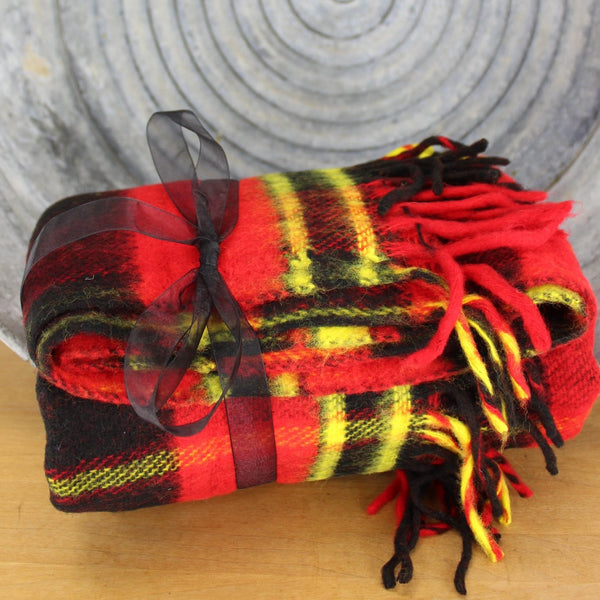red plaid throw beacon company cozy