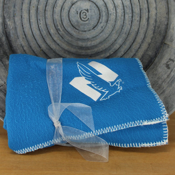 nationwide insirance logo blanket throw