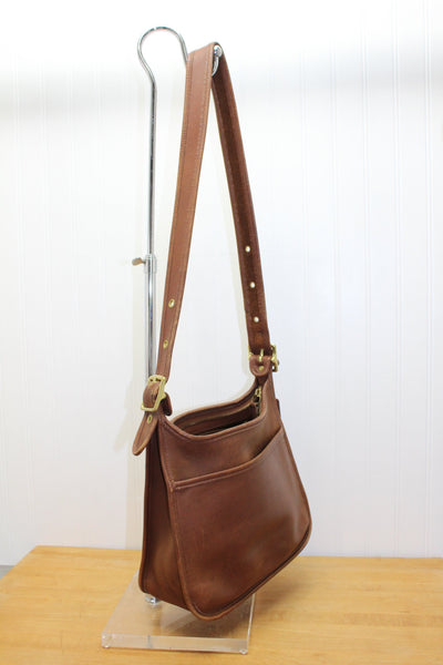 Coach Brown Leather Hobo Shoulder Bag - No. DOD 9966 - Supple Soft Heavy Leather