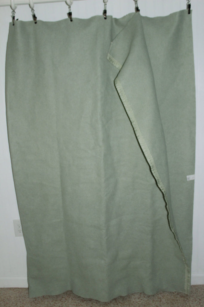 "Polyester Sheet Blanket Mossy Green  69"" X 90 all Year Use 100% poly"