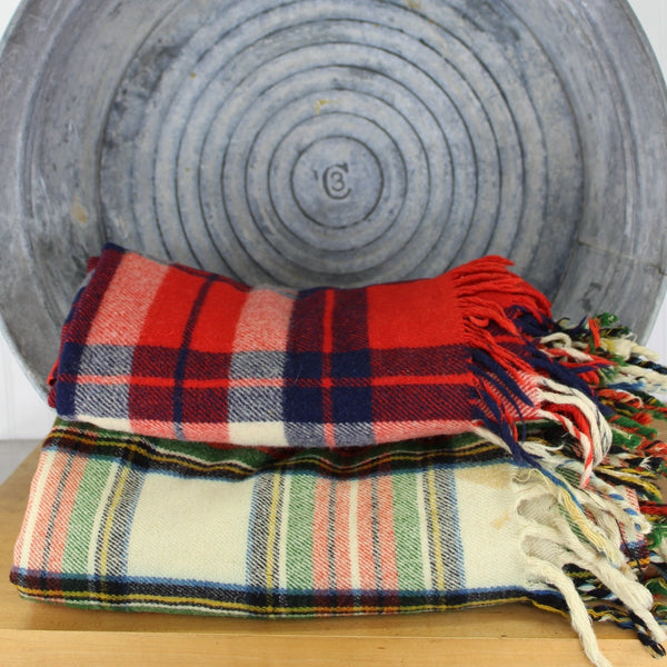 DIY Wool Projects - 2 Wool Throws Blankets - Cutters Felting Sewing