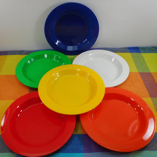 Ingrid Chicago Mod Plastic Party Ball Picnic Camping Set Replacement Part - Plate 8-3/8""