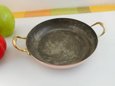 Douro B Amp M Copper Brass Stainless 9 Quot Footed Colander