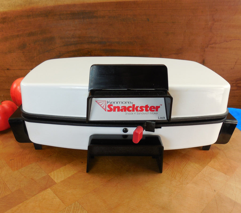 Sears Kenmore (Toastmaster) White Snackster Electric Sandwich Snack Maker - Original Booklet model 303.66810