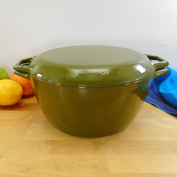 Copco Denmark Lax D3 Dutch Oven Pot Avocado Green Enamel Cast Iron