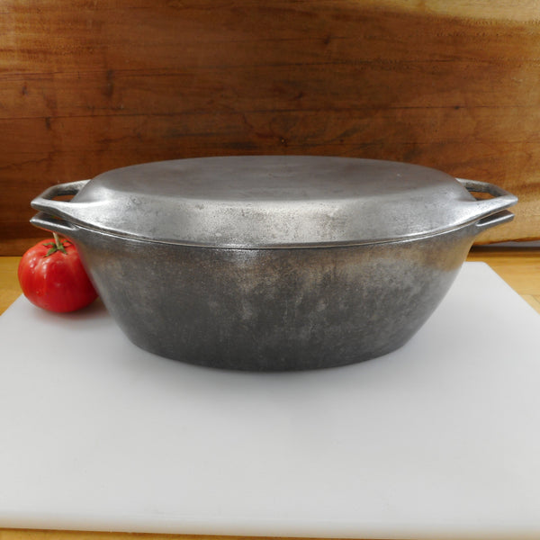Michael Lax Design Rare Cast Aluminum Oval Roaster