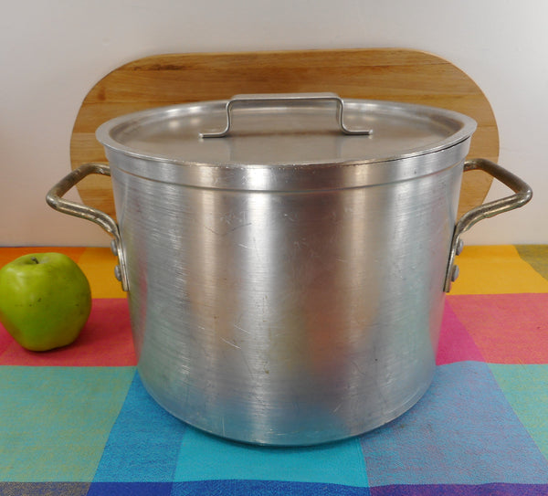 Leyse USA - NSF Commercial Aluminum 10 Quart Stock Pot with Lid #5310