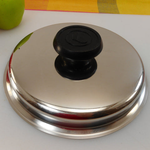 "Lifetime Cookware 8"" Replacement T304cc Stainless Lid - Lid Only"