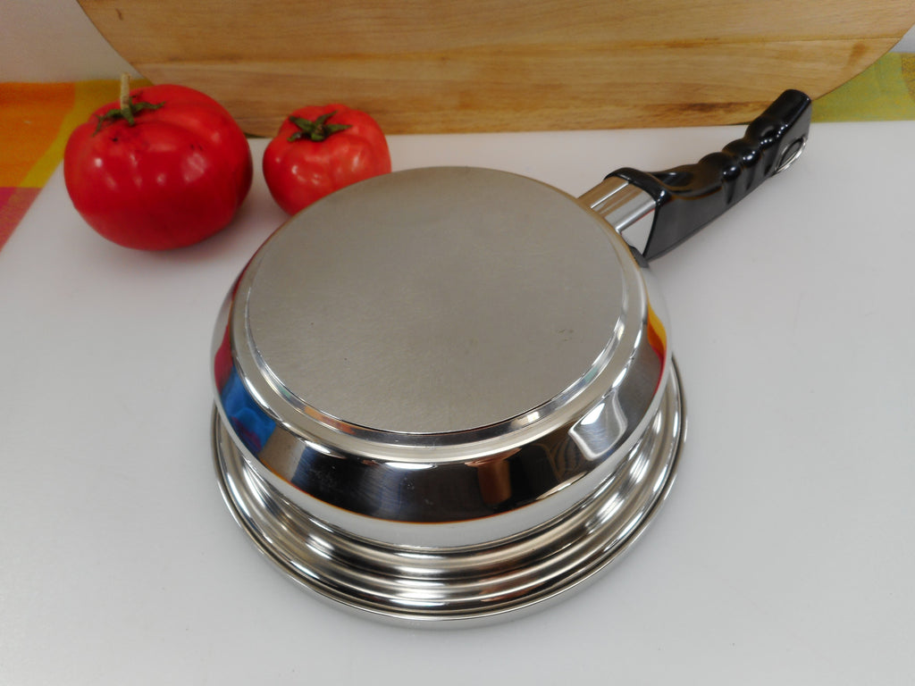 Lustre Craft USA Cookware 1 Quart Sauce Pan - Multi-Core T304 Stainless Steel no lid