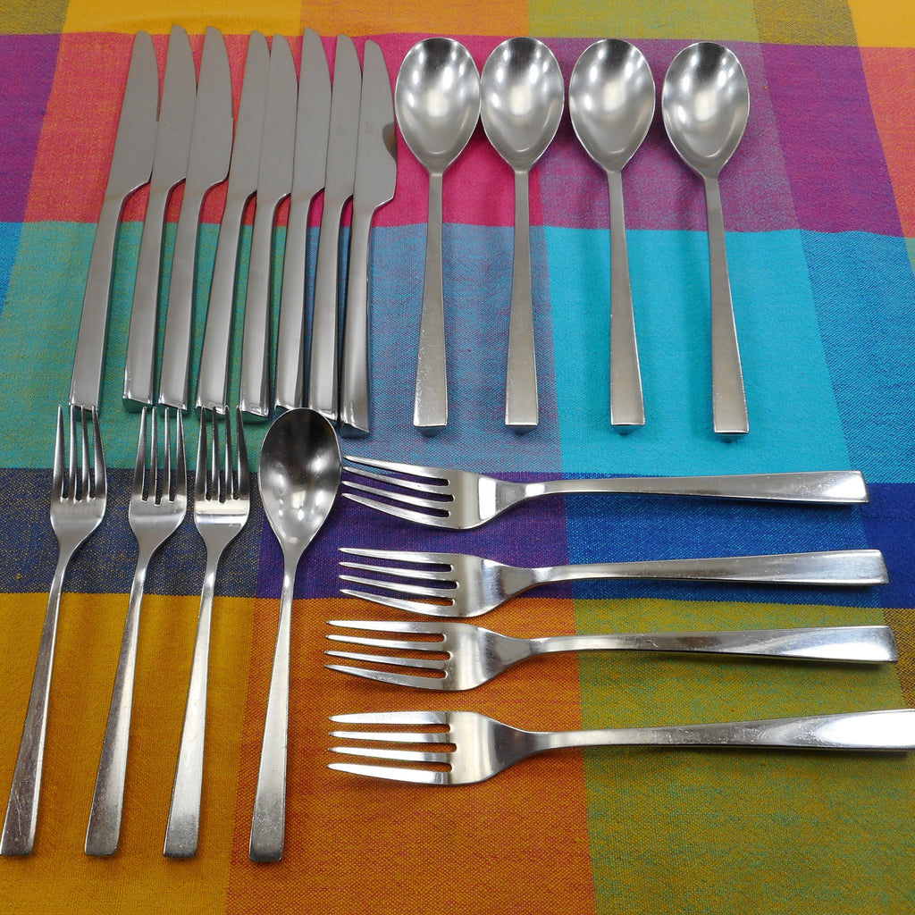 Towle Stainless Flatware LUXOR 20 Piece Lot Used
