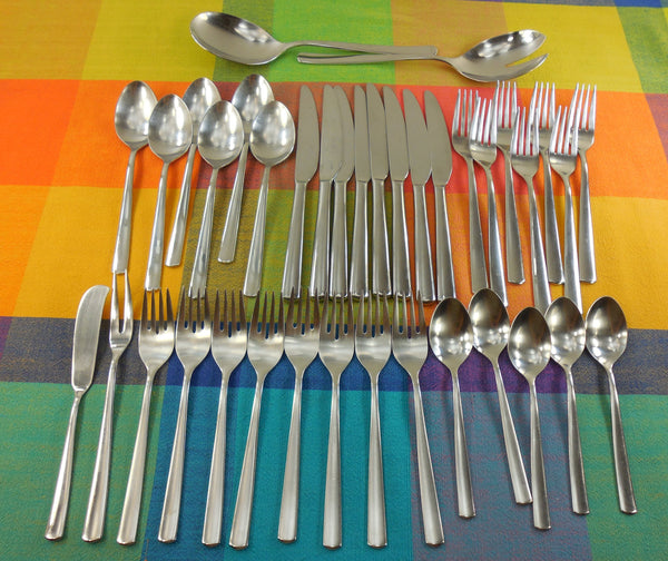 WMF Cromargan Korea 18/10 Stainless Flatware Lot - Manaos Bistro or Manaos II
