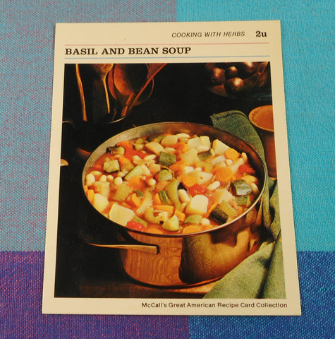 "McCall"" Great American Recipe Card 1973 - Dansk Quistgaard's Copper Cookware"