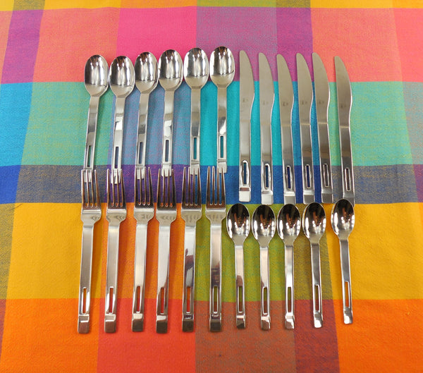 Vintage Mikasa Korea - INCLINE Stainless Flatware