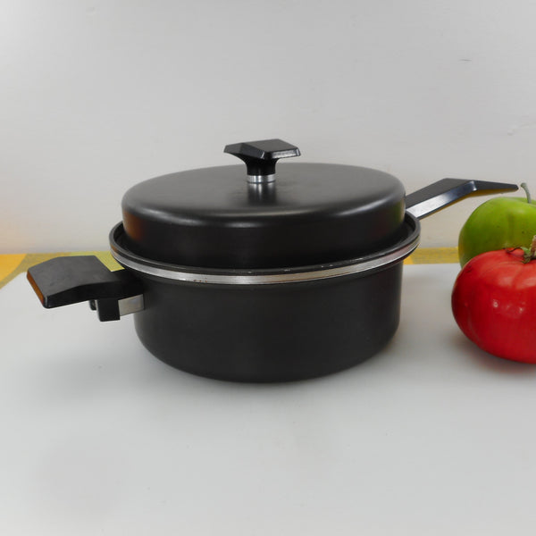 West Bend Miracle Maid Anodized 2 Quart Saucepan & Lid