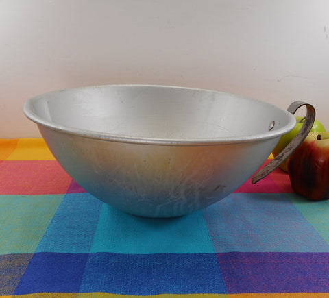Mirro Aluminum USA Large 5 Quart Commercial Style Vintage Mixing Bowl 5315M