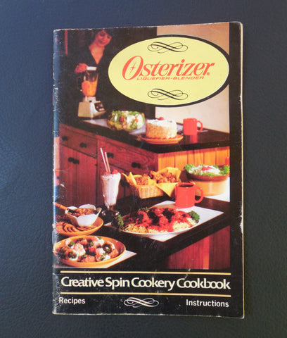 Osterizer 1984 Oster Blender Cookbook Recipe Instruction Manual Booklet