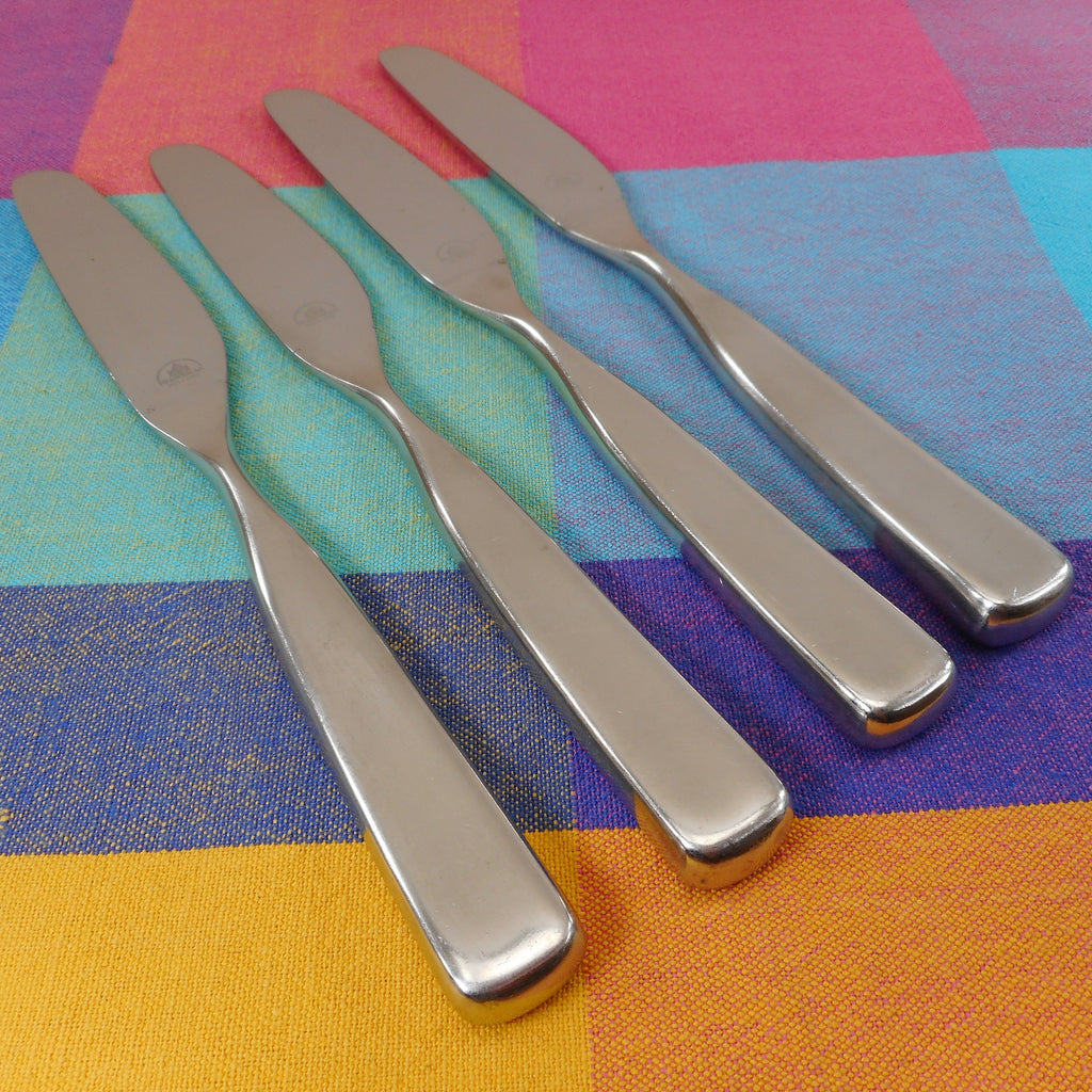 Franciscan Holland Pebble Beach Stainless Steel Flatware - 4 Knives used