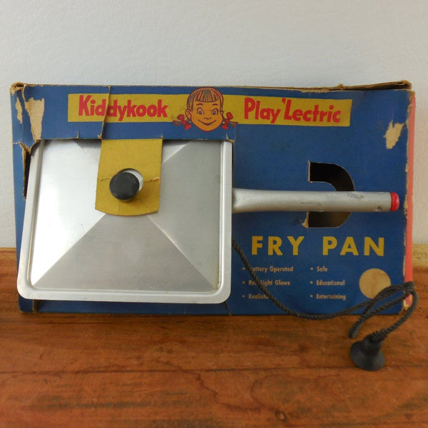 Vintage Kiddykook Play 'Lectric Child's Fry Pan Electric Skillet