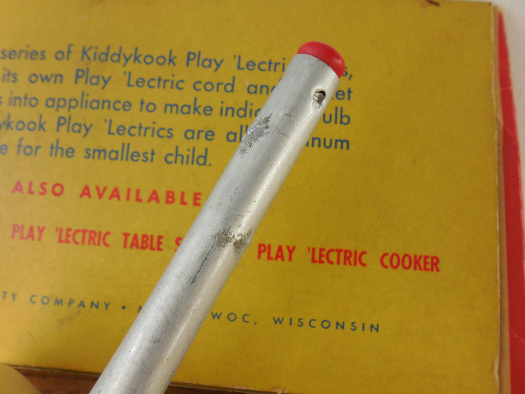 Vintage Kiddykook Play 'Lectric Child's Fry Pan Electric Skillet - View 5