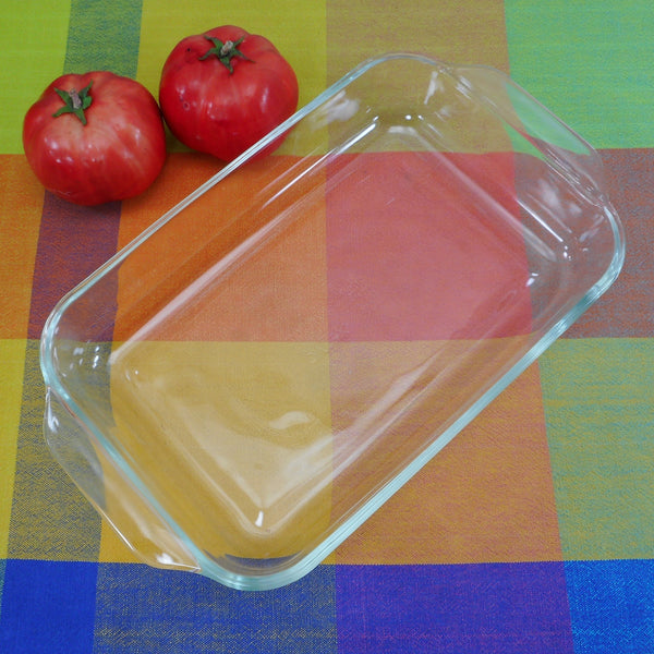 Pyrex USA Clear Glass 2 Quart Casserole Baking Dish 232-R