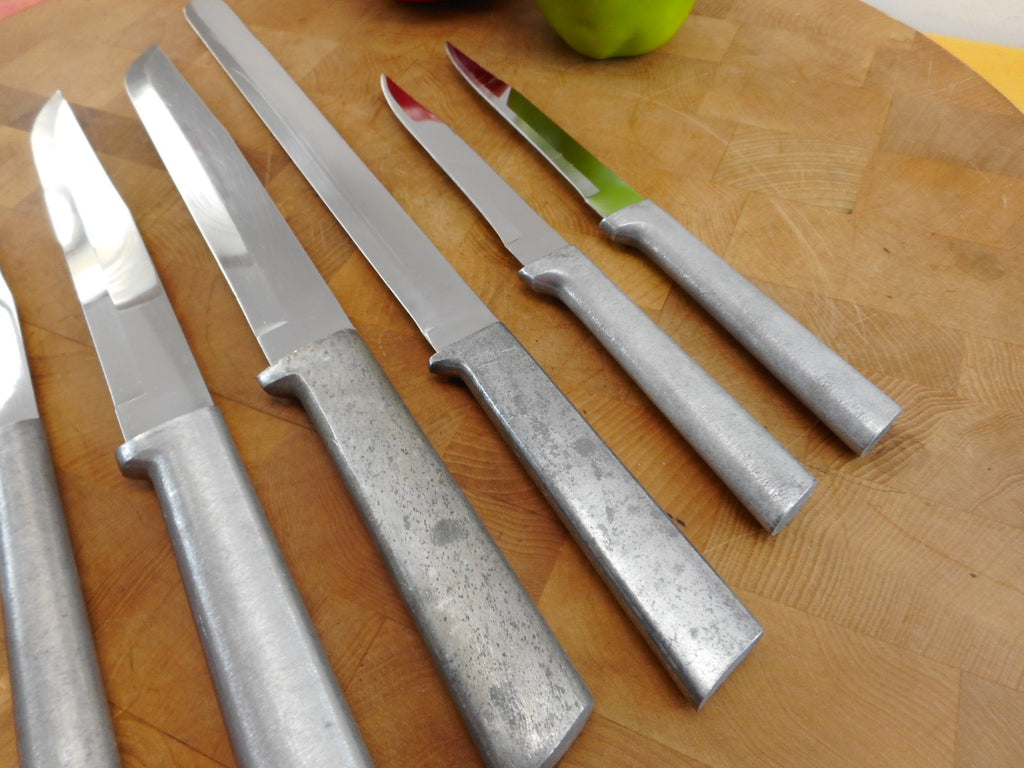 RADA Cutlery 6 Lot Kitchen Knives - USA High Carbon Stainless Utility Bread