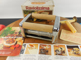 OMC Marcato Atlas Himark Pasta Maker Machine - Raviolissima Ravioli Attachment Part Box & Instructions